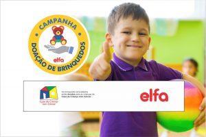 Campanha de doação de brinquedos do Grupo Elfa