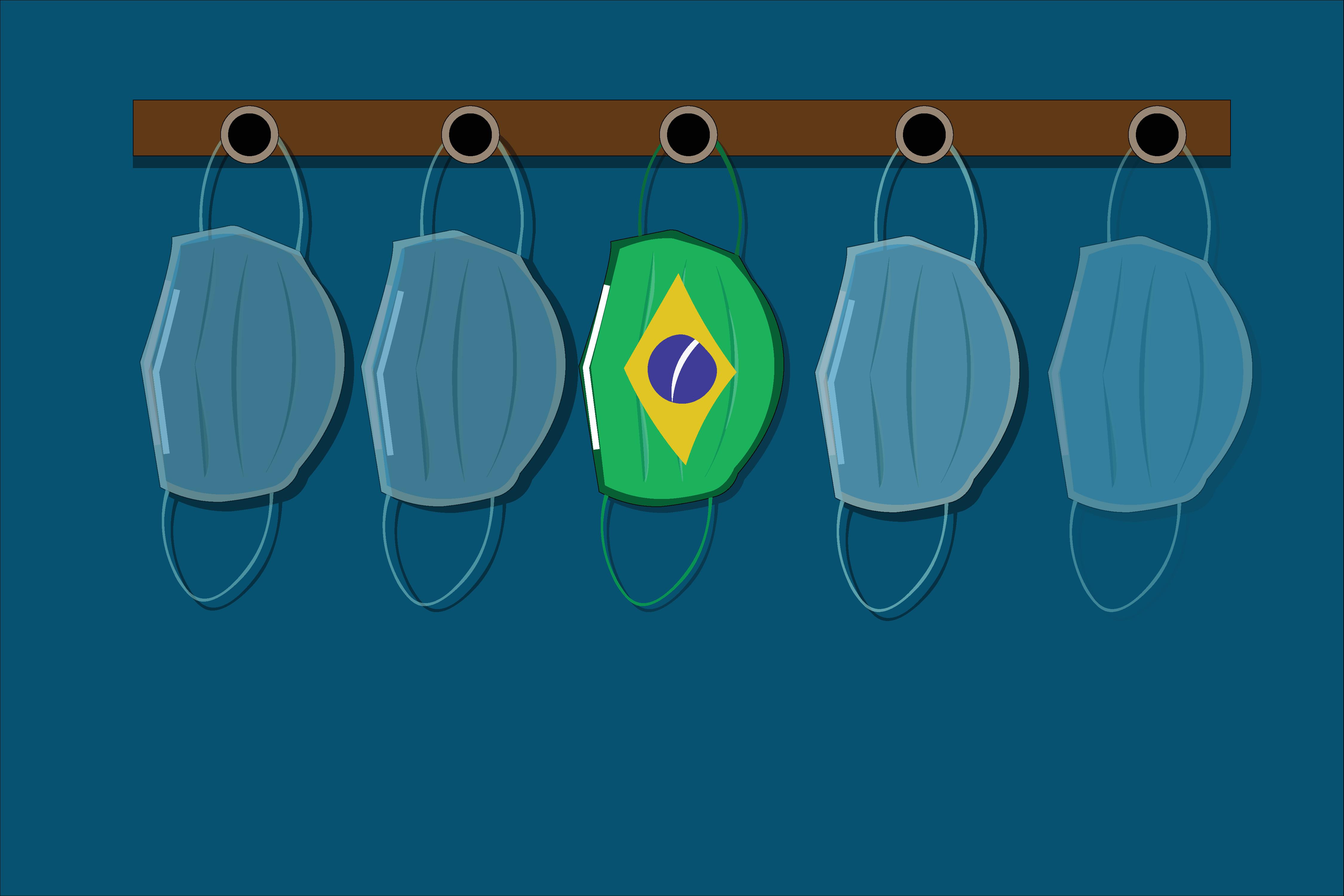 Chegada no Brasil