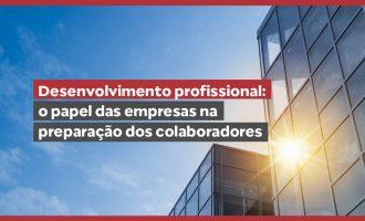 Desenvolvimento profissional: o papel das empresas na preparação dos colaboradores